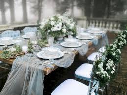 Stunning Winter Wonderland Wedding Tables Ideas 38