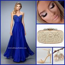 la femme 22524 long prom dress blue prom dress homecoming