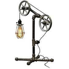 Industrial Table Lamp Amazon