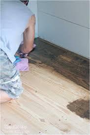 Cheap Flooring Ideas Over Concrete Handsome Diy Wood Floors Landscape