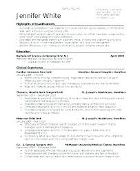 Resume Example For Nurses Nurse Practitioner Examples Sample Critical Care Acute