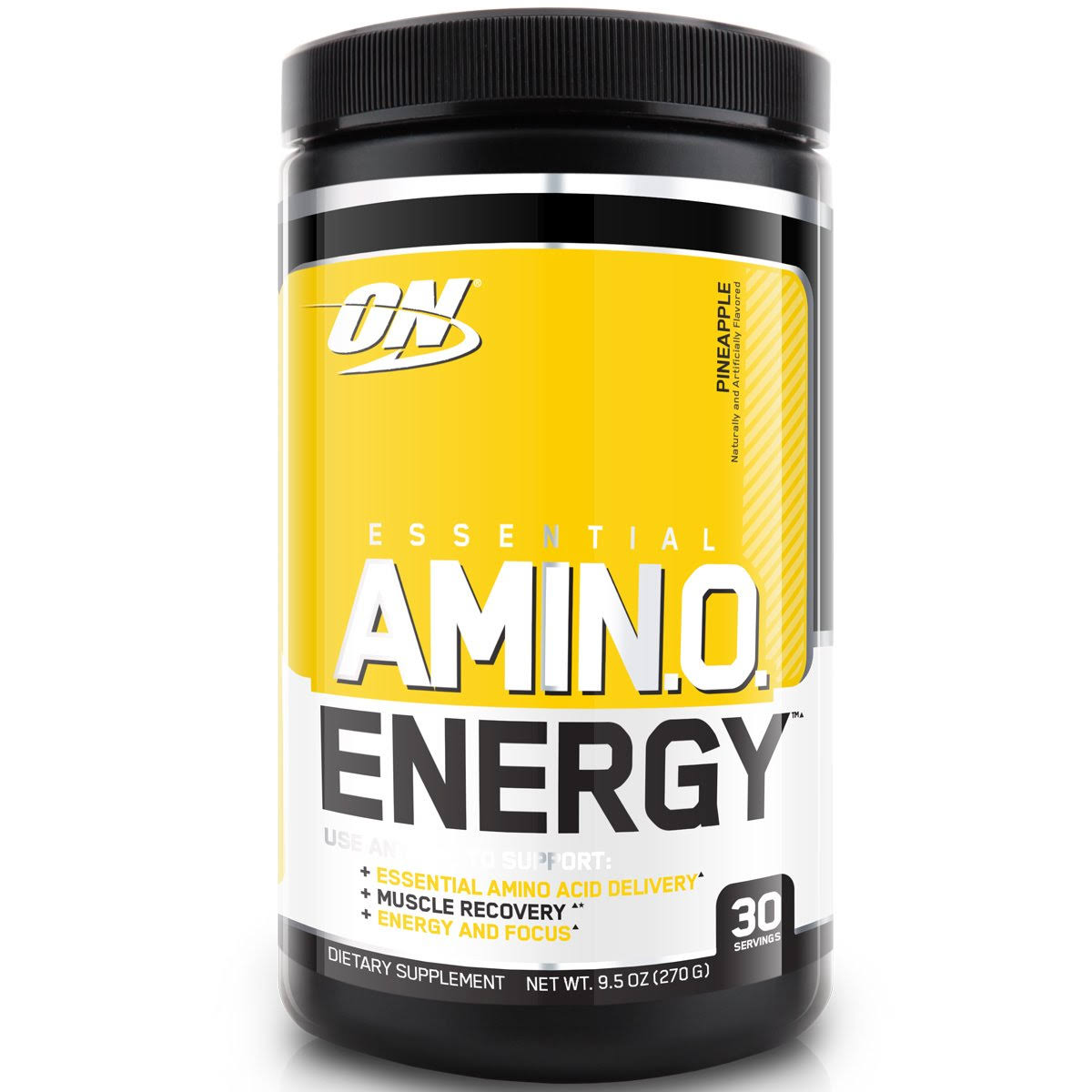 Optimum Nutrition Essential Amino Energy Powder Supplement - Pineapple, 270g