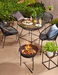 Kmart Outdoor Dining Table Sets by Fire Pit Gravel Best Interior Design Ideas