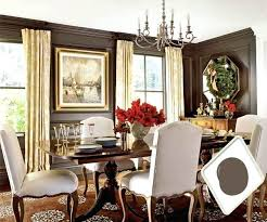 Best Paint Colors For Dining Rooms Brilliant Room Brown And