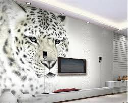 beibehang custom moderne mode persönlichkeit tapete leopard wohnzimmer tv wand dekoration malerei tapete für wände 3 d