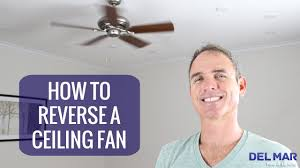 Ceiling Fan Pull Switch Broken by How To Reverse A Ceiling Fan Youtube
