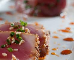 cuisiner thon frais mi cuit de thon frais au sésame recette de mi cuit de thon frais