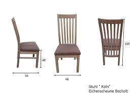 eiche massiv tisch und stuhl eichenscheune bocholt