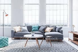 skandinavischer stil modernes wohnzimmer stockfoto und mehr bilder architektur