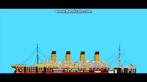 Roblox Rms Olympic Sinking by Sinking Ship Simulator Titanic Slow Sinking Youtube