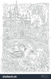 Adult Coloring Pages Mandala Pdf Fall Book Castle Page