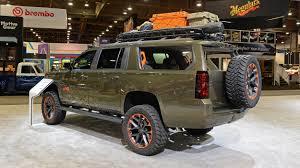 2018 Chevrolet Suburban Luke Bryan Concept: SEMA 2017 Photo Gallery ...
