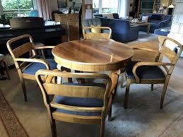 tolle antike sitzgruppe runder tisch 4 stühle