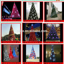 Spiral Lighted Christmas Trees Outdoor by Led Spiral Tree Outdoor Metal Frame Giant Christmas Tree White Red