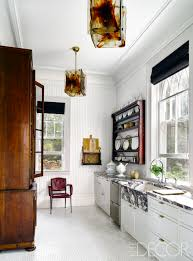 Colorful Kitchens Bright White Kitchen Cabinets With Dark Floors Oak Red Beautiful