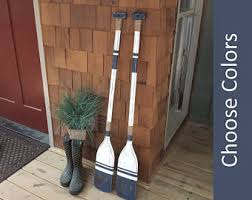 Decorative Oars And Paddles by Wooden Oars Etsy