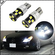 2 9 smd 3030 2825 w5w t10 canbus error free led replacement bulbs