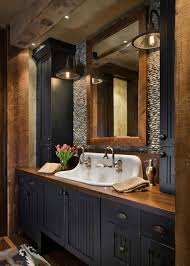 39 Best Rustic Bathroom Ideas: Popular Decor + Cute Designs (2019 Guide) White Simple Rustic Bathroom Wood Gorgeous Wall Towel Cabinets Diy Country Rustic Bathroom Ideas Design Wonderful Barnwood 35 Best Vanity Ideas And Designs For 2019 Small Ikea 36 Inch Renovation Cost Tile Awesome Smart Home Wallpaper Amazing Small Bathrooms With French Luxury Images 31 Decor Bathrooms With Clawfoot Tubs Pictures
