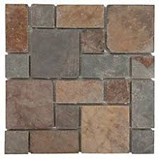 multicolor pattern slate mosaic slate floor decor and natural