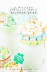 St Patricks Day Cupcakes Milkshakes