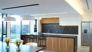 A Kitchen Designed By Ingrid Geldof The Splashback Has Sealed Brush Finish On Pietra