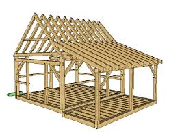 16x20 Gambrel Shed Plans by 12x16 Timber Frame Shed Plans Timber Frames Sheds And The Gables