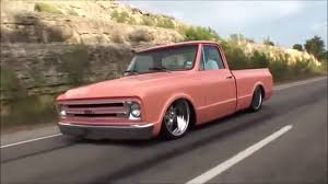 Bagged 68 Chevy C10 Cruising - YouTube