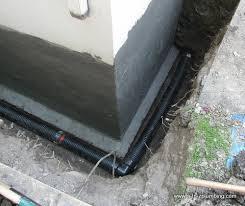 Basement Wall Waterproofing Exterior Wall in Toronto and GTA