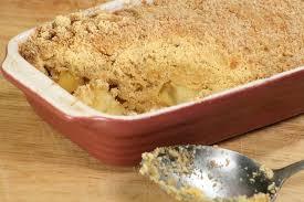 recettes de cuisine facile recette de crumble aux pommes la recette de maman la