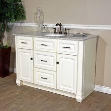 bellaterra 605022 50 antique white single sink bathroom vanity