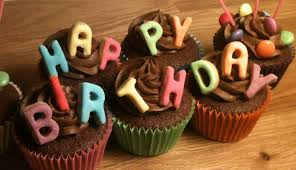 Happy Birthday Chocolate Cupcake Events id