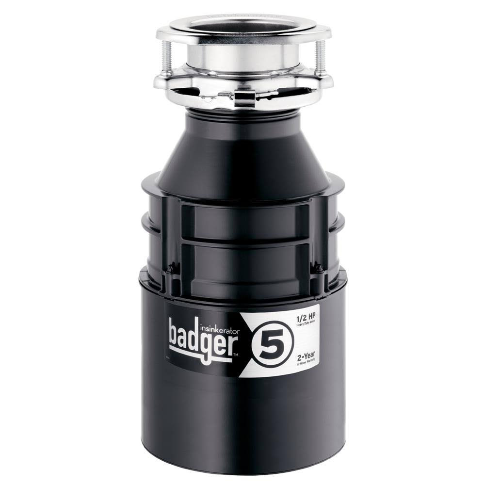 InSinkErator Badger 5 1/2 HP Continuous Feed Garbage Disposal