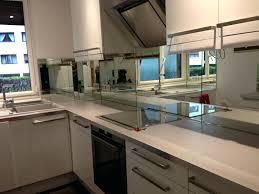 cuisine inox sur mesure credence sur mesure miroir pour cracdence de cuisine inox ikea avec