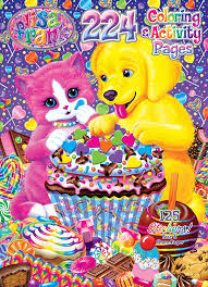 Lisa Frank 224 Page Coloring Activity Book