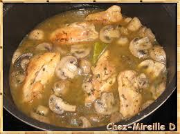 cuisiner haut de cuisse de poulet hauts de cuisses de poulet fermier au riesling chez mireille d