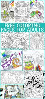 A Whole Bunch Of Gorgeous And Free Coloring Pages For Adults As Grown Ups Should