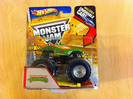 100 Ninja Turtle Monster Truck Hot Wheels Jam Teenage Mutant S MaxD Includes