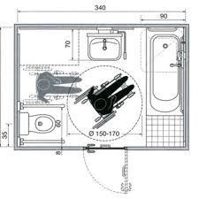 chambre accessible handicapé chambre plan salle de bain avec wc plan salle de bain accessible