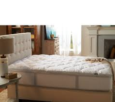 Toddler Bed Mattress Topper by Mattress Pads U0026 Toppers Covers Protectors More U2014 Qvc Com