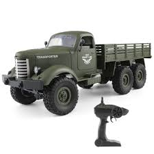 JJR/C Q60 1/16 2.4G 6WD RC Off-road Crawler Military Truck Army Car ...