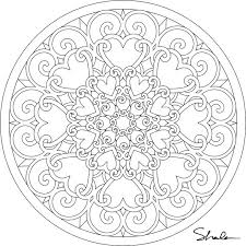 Free Mandala Coloring Pages To Print For Adults Printable