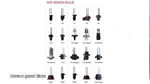 types of headlight bulbs