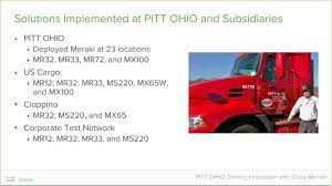 PITT OHIO: Driving Innovation With Cisco Meraki - YouTube Mikes Michigan Ohio Ltl A New Cgressional Adment To An Alreadyenacted Law Would Extend Tnsiams Most Teresting Flickr Photos Picssr Jim Fields Maug Program Summary Liberty Fire Sprinkler Company Inc Pitt Trucking Terminal Talk December 2014 By Pitt Ohio Issuu Home Atc Group Services Llc Pittsburgh Pa Rays Truck Photos Massillon
