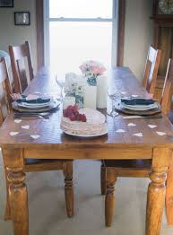 Valentines day dinner for two easy tablescape and craft idea • Our