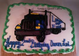 Sandy's Sweet Cakes: 18 Wheeler Tractor Trailer Cake Monster Truck Cake Decorations Kid Stuff Pinterest Cakes Old Chevy Truck Cake Cakewalk Catering Decorating Ideas 3d Tutorial How To Cook That Youtube Cstruction Birthday For Conner Cassys Cakes Party Wichita Ks Awesome Grave Digger Fire Designs Pan Cakecentralcom