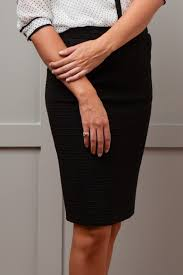 how to find the perfect black skirt