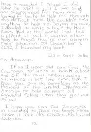 Asked and Answered An 11 Year Old Daughter of An Incarcerated