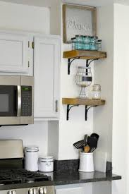 KitchenFloating Shelves Diy Wood And Metal Bookcase Rustic Wall Reclaimed Bookshelves