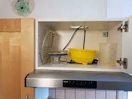 ikea küche faktum schrank über dunstabzugshaube