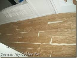 Tiling A Bathroom Floor On Plywood by Best 25 Paper Bag Flooring Ideas On Pinterest Paper Flooring